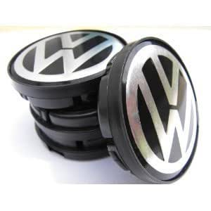 vw volkswagen 4st 60mm felgendeckel nabenkappen emblem. Black Bedroom Furniture Sets. Home Design Ideas