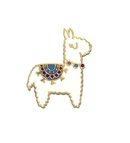Black Jaguar Alpaka Pin | Alpaka Geschenke | Enamel Pin | Lama Anstecker | Alpaka Ansteck-Pin | Geschenke für Mädchen