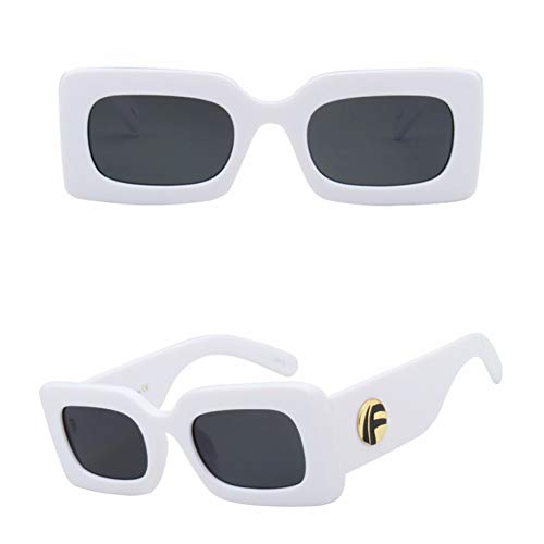 SKCLBOOS Sonnenbrillen Retro rechteckige Sonnenbrille Frauen markendesigner 2019 Mode rot kleine quadratische Schwarze Sonnenbrille für Frauen uv400 Shades