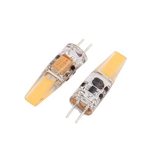 2pcs AC12V 6W G4 Puce Saphir S/N Remplacement Ampoule LED Blanc Neutre