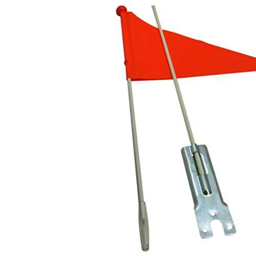 Land-Haus-Shop Kinderfahrradfahne 1,60 m, Kinder Sicherheits Fahrrad Fahne Flagge Wimpel,orange (LHS) (Kinder-fahrrad Sicherheit Flagge)