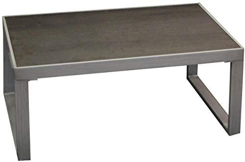 Proloisirs Table Basse en Aluminium Manhattan
