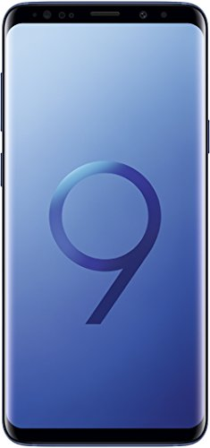 Samsung Galaxy S9+ Smartphone (6,2 Zoll Touch-Display, 64GB interner Speicher, Android, Single SIM) Coral Blue - Deutsche Version