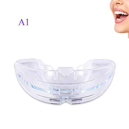 STKJ Zahnmedizinische Kieferorthopädische Klammern, Zähne, Die Kieferorthopädische Halter-Klammern Geraderichten Lächeln Für Erwachsenes Kind, Nachtmundschutz Dünn,A1