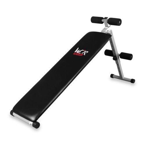 We R Sports FI100 Banc de musculation pour abdominaux Noir