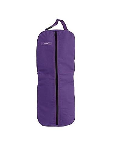 Tough 1 Tough-1 Nylon/Poly Bridle/Halter Bag, Purple