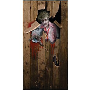 Halloween Door Poster 6ft X 3ft (Halloween) - Unisex - 6ft X 3ft (disf