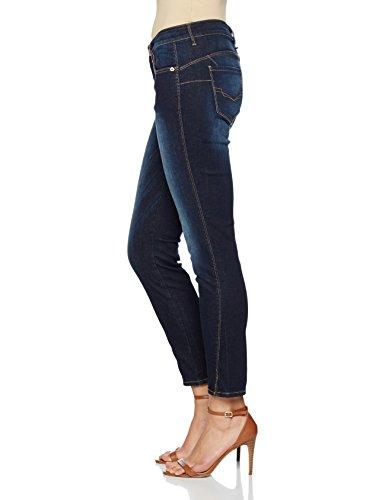 H.I.S Damen Skinny Jeans Amber Blau (advanced 9712)