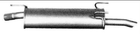 Imasaf 53.27.57 Silenciador posterior