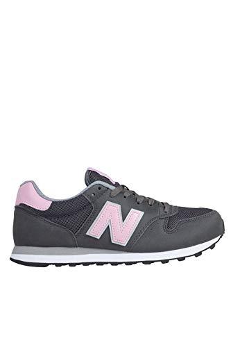 New Balance GW500-B Sneaker Damen dunkelgrau/pink, 8 US - 39 EU - 6 UK -
