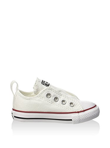 CONVERSE larme optique simple, ct 723232 chaussures de bébé blanc unisexe Bianco