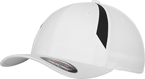 Performance Flexfit Bonnet pour Adulte L/XL Multicolore - Blanc/Noir