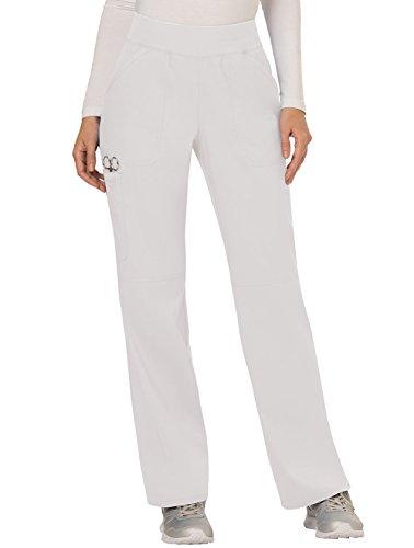 Cherokee Workwear Revolution Damen-Pullover mit geradem Bein - Weiß - XXX-Large -