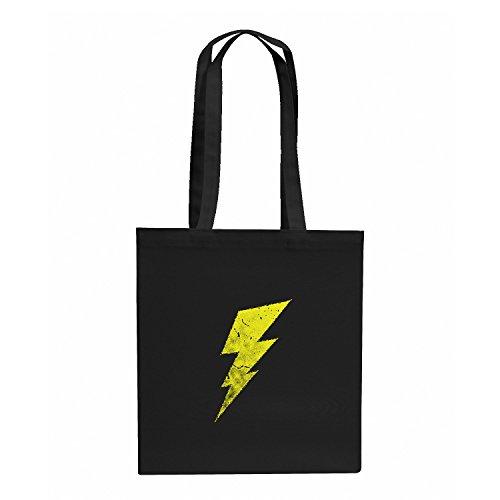 Flash - Stoffbeutel, schwarz (Big Bang Theory Flash Kostüm)