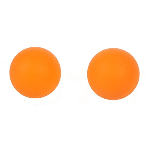 Balle de ping pong sodial r sport en plastique orange - Balle plastique tennis de table ...