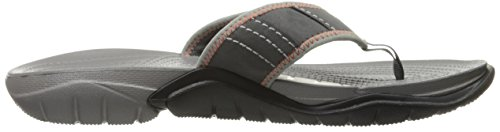 Crocs Swiftwater M, Tongs - Homme Graphite/Smoke