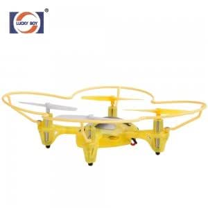Lucky Boy-9990 2.4GHZ 6 Channel 6 Axis RC Quadcopter UFO with Gyros Yellow