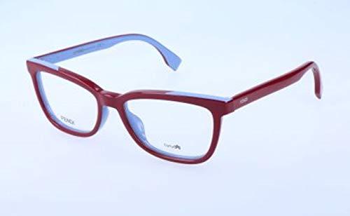 Fendi Damen FF 0122 MFU/16-51-16-140 Brillengestelle, Rot, 51