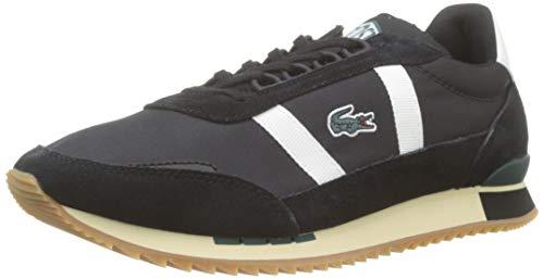 Lacoste Herren Partner Retro 319 1 SMA Sneaker, Schwarz (Black/Offwhite), 42 EU