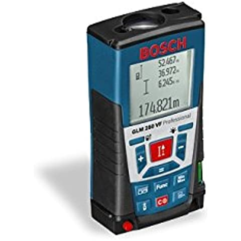 Bosch GLM 250 VF Professional - Metro (1.5 V, LR03 (AAA), 5 h, 66 x 120 x 37 mm, 240 g)
