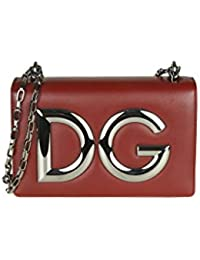 Dolce   Gabbana Borsa A Spalla Donna BB6498AI19880304 Pelle Rosso 8e4bd2f7b09