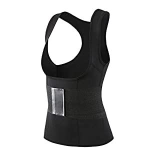 AIMADO Frauen Body Shaper Damen geformter Gürtel Bauch Trainings Korsett, Das Taillen Körper Former Bustier abnimmt