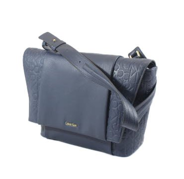 CALVIN KLEIN - Femme sac bandouliere misha medium shoulder bag k60k602662 bleu