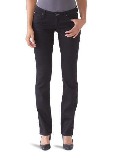 Lee Damen Jeans Normaler Bund, MARLIN - L337DROC, Schwarz (PITCH...