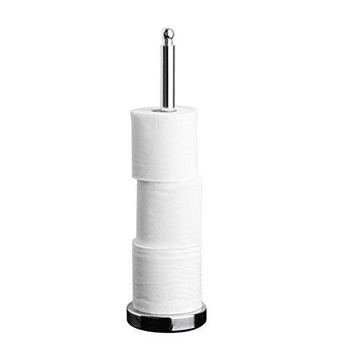Chrom WC-toilettenlektüre Papier Toilettenpapierrollen Aufbewahrung Ständer Spike stehend