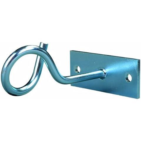 Hammer Deckenhaken - Colgador para sacos de boxeo, color plateado, talla Talla única