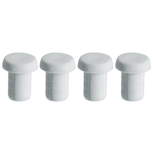 WMF Ersatzfüße für Schneidbrett 4-teilig Schneidebrett Wechselmatten Kunststoff