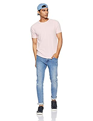 GAP Men's Solid Regular Fit T-Shirt