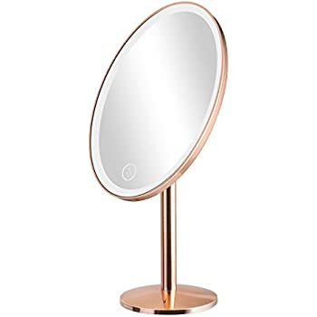 Navaris Led Foldable Cosmetic Mirror 2x 3x Magnifying