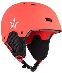 Jobe BASE WAKE helmet Helm Wakeboard Kite Surf Wassersporthelm Coral Red