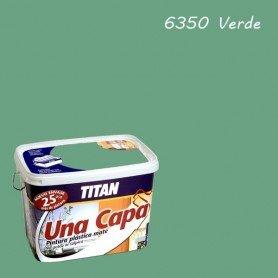 Titan 69635005–Künstlerfarbe matt grün Titan eine Schicht