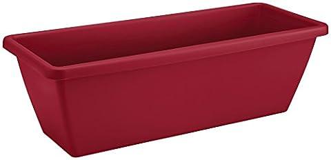 elho Barcelona Trough 50cm Balcony Planter - Cranberry