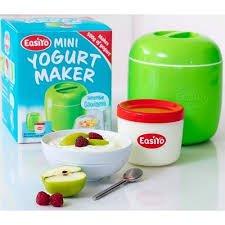 Easiyo Mini-Joghurtbereiter, inkl. Joghurtbecher + Anleitung, 500g Joghurt, grün