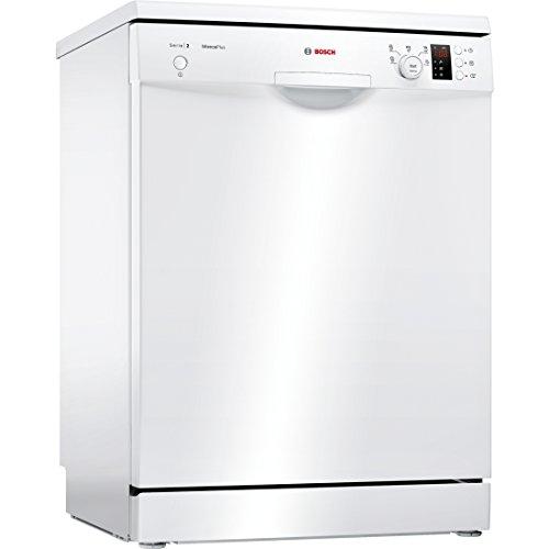 Bosch Serie 2 SMS25AW05E Independiente 12cubiertos A++ lavavajilla - Lavavajillas (Independiente, Blanco, Tamaño completo (60 cm), Blanco, Botones, Giratorio, 1,75 m)
