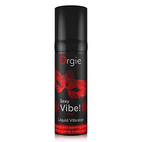 Orgie Sexy Vibe! - Wärmeeffect- Flüssigkeits - Vibrator, 15 ml Sexy Vibe
