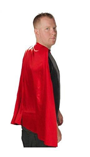 Kostüm Superman Top Für Erwachsenen - Costume Agent Superhero Erwachsene Kostüm Umhang (rot)