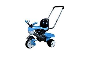 Polesie Polesie46819 Comfort - Triciclo de Juguete con Barra, Campanas, asa y cojín