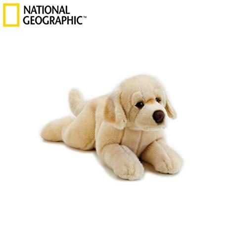 Venturelli- Orazio Labrador Steso Piccolo Cane Peluches Giocattolo 497, Multicolore, 8004332421658