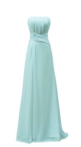 Bridal_Mall - Robe - Trapèze - Sans Manche - Femme Vert - Vert menthe
