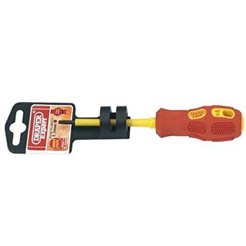 Draper Expert 69211 2.5 mm x 75 mm Fully Insulated Slotted Screwdriver