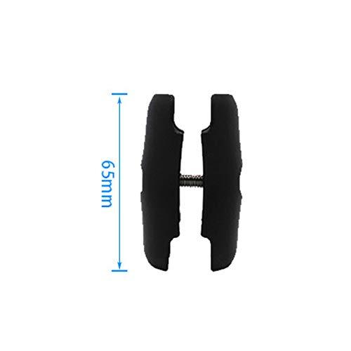 certylu Double Socket Arm für 1 Zoll Ball Bases für Gopro Kamera Fahrrad Motorrad Handyhalter 65mm oder 95mm - Standard Base Socket