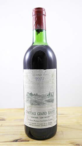 Vino Cosecha 1977 Château Grand Barry HE Botella