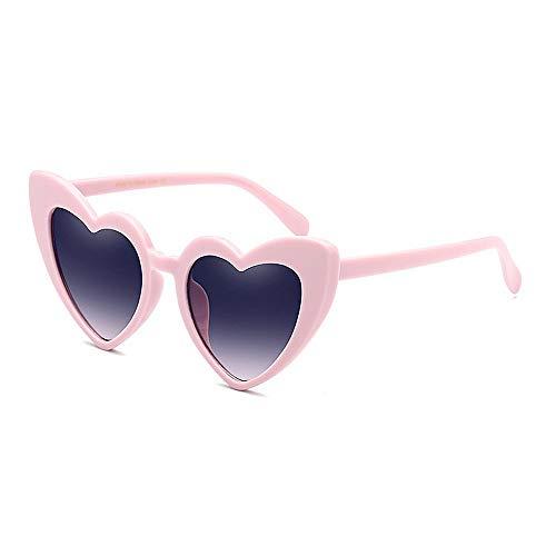 XHCP Frauen-Klassische Sonnenbrille-Herz-Form-Katzenaugen-große Sonnenbrille für Frauen PC-Rahmen-Sonnenbrille umrandete Sonnenbrille-Dame 's Klassische Retro Sonnenbrille-Persönlichkeit, die Son