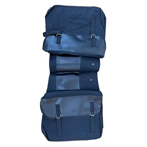 Censhaorme Fahrrad-Rücksitz-Trunk Bag Canvas-Fahrrad-Sattel-Beutel-Motorrad-Fahrrad Mountainbike-Pack