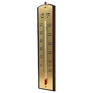 Biotop Wall Thermometer Indoor & Outdoor Metal Sheet, 1 x 1 x 1 cm, B2209
