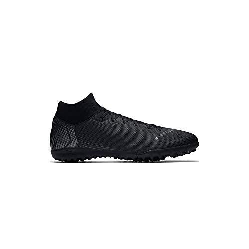 Nike Unisex-Erwachsene MercurialX Superfly VI Club IC Sneakers, Schwarz Black 001, 41 EU